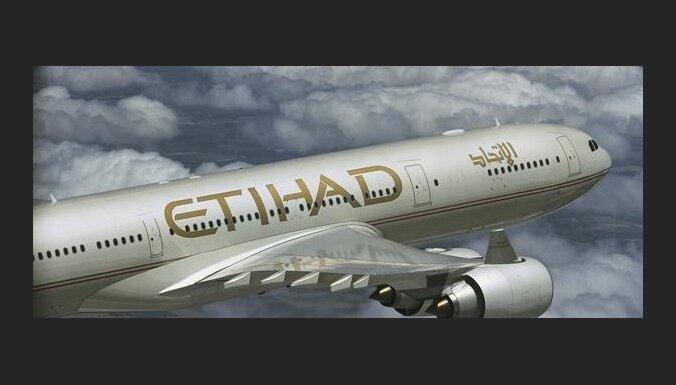 'Etihad Airways' iegādāsies 49% 'Alitalia' akciju