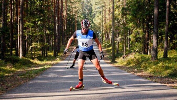 Bikšem ceturtā vieta Madonā notiekošā Pasaules kausa posma rollerslēpošanā prologā junioriem