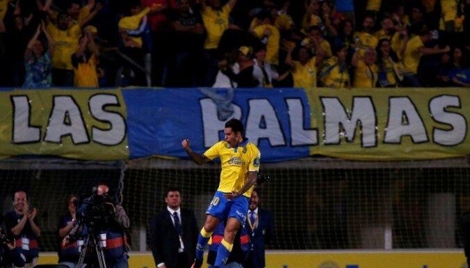 Las Palmas Sergio Araujo score Real Madrid
