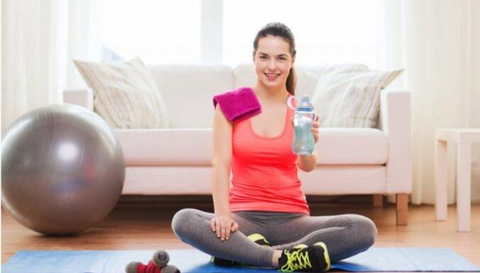 домашние упражнение для сжигания жира йд