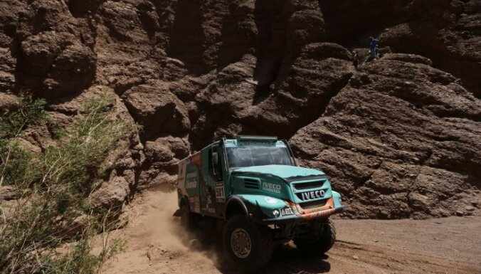 Iveco Truck drivers, Netherlands Gerard De Rooy, Dakar