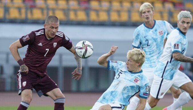 """Европейская квалификация: 0:2 на """"Даугаве"""", победа России, ничья Украины и Франции"""