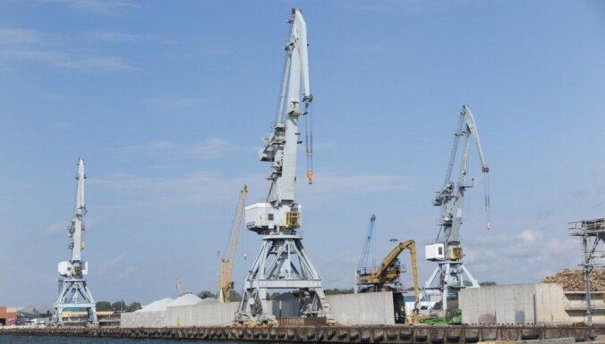 Министр о работе портов: на фоне Риги и Вентспилса Лиепая выглядит хорошо