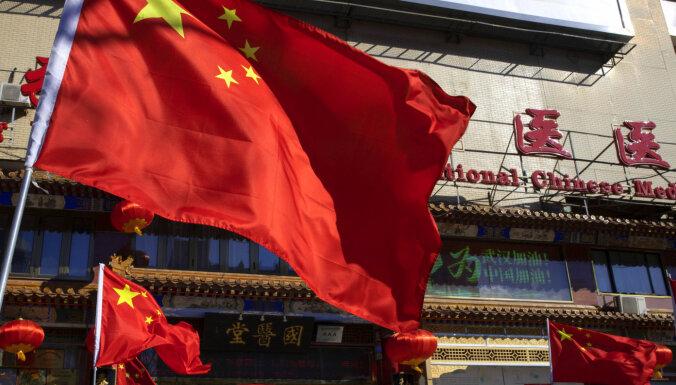 Ķīnā būtiski pieauguši eksporta un importa apjomi