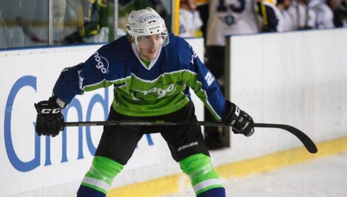Miks Lipsbergs – Latvijas hokeja čempionāta vērtīgākais spēlētājs