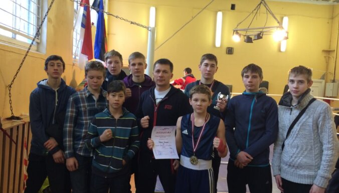 Латвийские боксеры победили литовцев в матчевой встрече