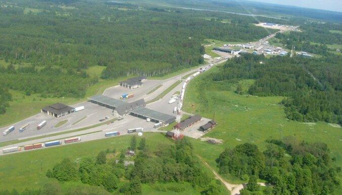 Par 2,86 miljoniem eiro turpinās Terehovas robežšķērsošanas vietas modernizāciju
