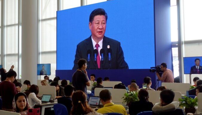 Sji mudina Taivānas uzņēmējus ignorēt 'neatkarības ideju'