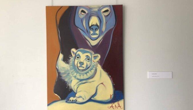 В Юрмале открылась выставка Кристианы Димитере - от слонов до мухоморов