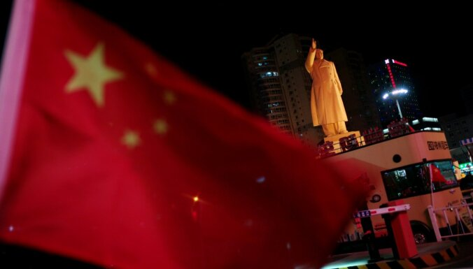 Ķīnas ekonomikai pērn 29 gados vājākā izaugsme