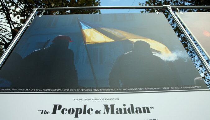 """Выставка """"Люди Майдана"""" снова разрушена; полиция ищет очевидцев"""