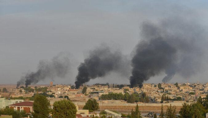 Turcija sāk sauszemes spēku ofensīvu Sīrijā