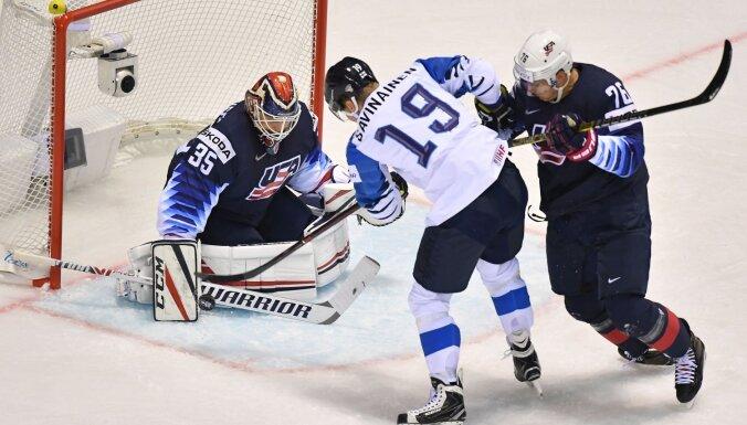 Канадцы на последней секунде дожали словаков, американцы едва не проиграли финнам
