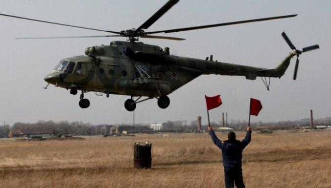Во время операции по спасению пилотов Су-24 погиб российский морпех, вертолет уничтожен