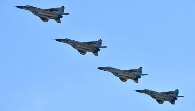 В Сирию отправлены новейшие российские истребители МиГ-29СМТ