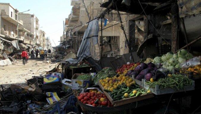 Uzlidojumos Sīrijas Idlibas provincē 27 bojāgājušie