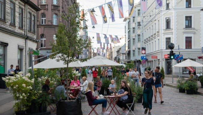 Летом улица Тербатас может опять стать пешеходной: в феврале пройдет дискуссия