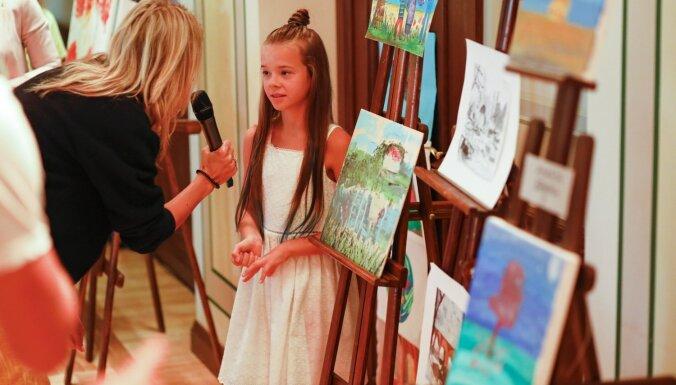 Aizvadīts vājdzirdīgo bērnu talantu konkurss 'Ko tu proti?'