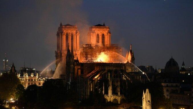 Пожар в соборе Парижской Богоматери: на восстановление Нотр-Дама выделят миллионы евро