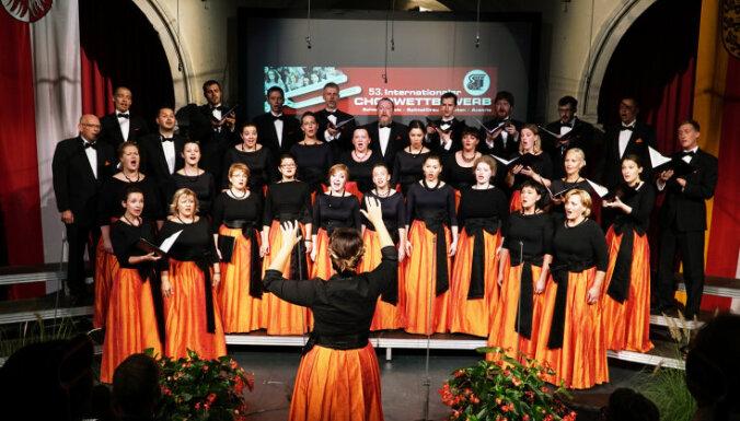 Emīla Dārziņa jauktais koris uzvar starptautiskā koru konkursā Austrijā