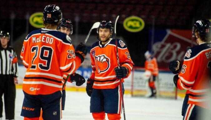 Jakam uzbrucēja cienīgs vārtu guvums AHL čempionātā