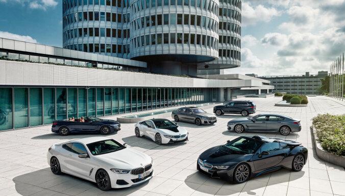 BMW šogad Eiropā pārdotajiem auto CO2 izmešus plāno samazināt par 20%