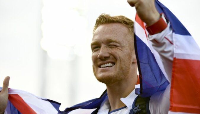 Britains Greg Rutherford