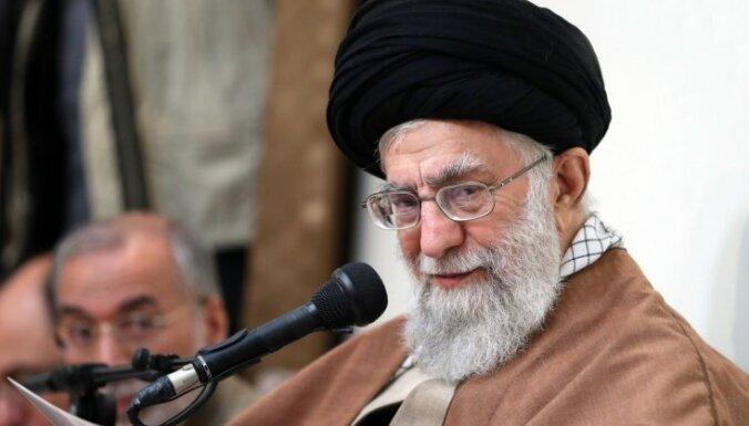 Amerikāņiem ir jāatceļ sankcijas, uzsver Irānas augstākais līderis
