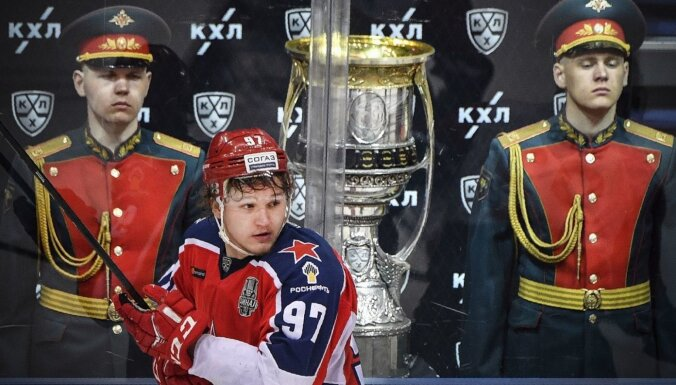 KHL atceļ Gagarina kausa izcīņu un noslēdz sezonu