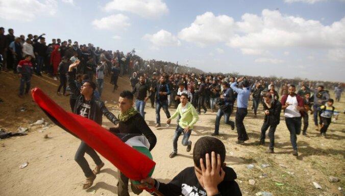 Столкновения на границе Израиля и сектора Газа: 12 погибших