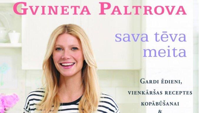 Gvineta Paltrova uzrakstījusi pavārgrāmatu
