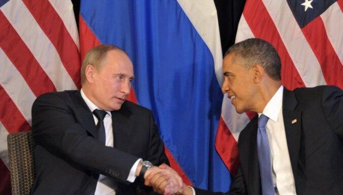 Путин и Обама пообщались в кулуарах на саммите АТЭС
