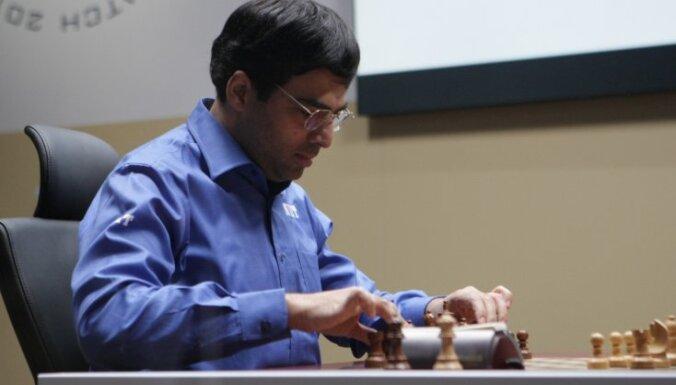Ананд сравнял счет в матче за шахматную корону