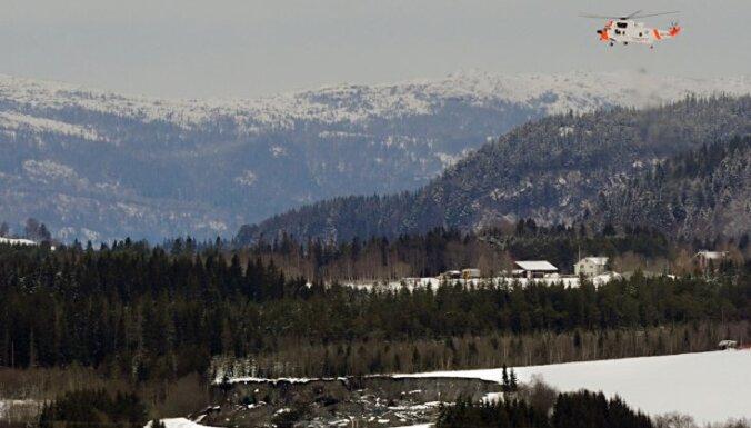 Trondheimā zemes nogruvuma dēļ evakuēti cilvēki