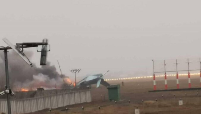 В Казахстане разбился военный самолет Ан-26. Есть погибшие