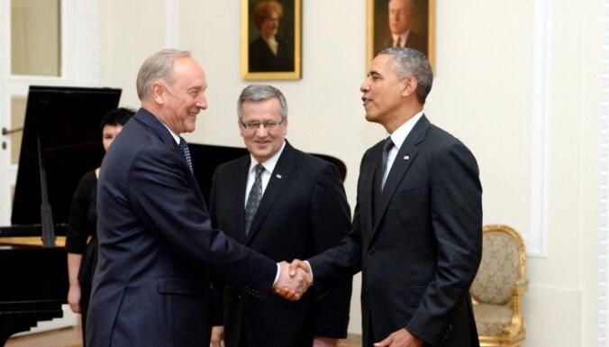 ASV prezidents Baltijai apliecina nemainīgi stingru atbalstu drošībai
