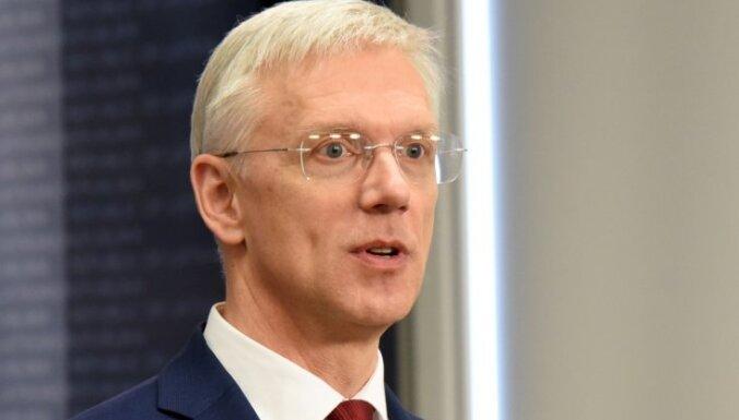 Премьер о проверках фирмы главы МВД Гиргенса: полиция работает хорошо, политикам вмешиваться не следует