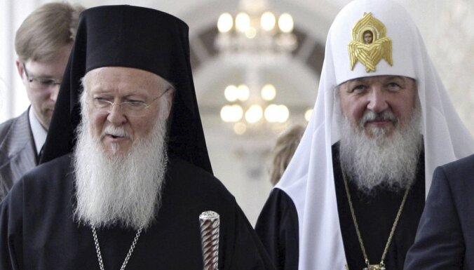"""Патриарх Кирилл рассказал о последнем разговоре с Варфоломеем перед """"расколом"""""""