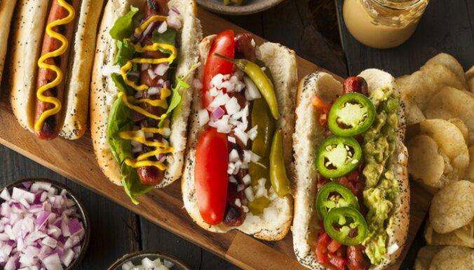 10 klasiski amerikāņu ēdieni, kas jānobauda kaut reizi mūžā