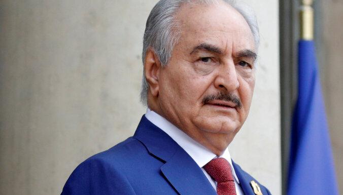 Lībijas komandieris Haftars neparaksta pamiera vienošanos