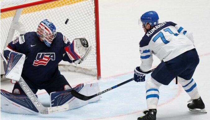 Somija turpina uzvaru gājienu pasaules hokeja čempionātā
