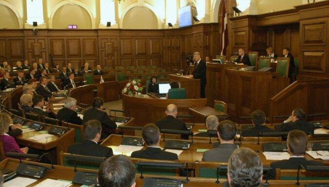 Balsojums par Vējoni VARAM vadībā saīsinās Saeimas brīvdienas