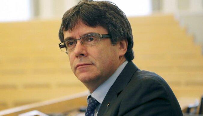 Бывший глава Каталонии Пучдемон задержан в Германии
