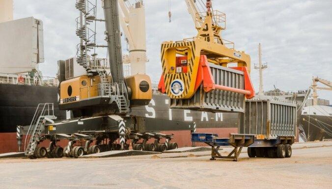 В Рижском порту снизился объем перевалки всех основных видов грузов