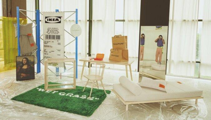 С 1 ноября в продажу поступила коллекция IKEA, созданная совместно с мировым дизайнером Вирджилом Абло