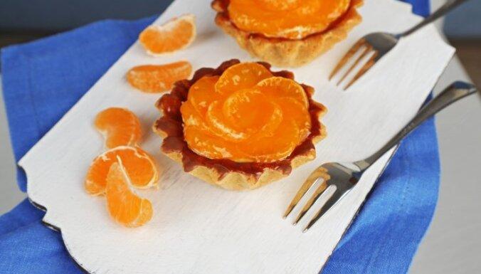 Ko iesākt ar mandarīniem? Septiņas receptes realizēšanai