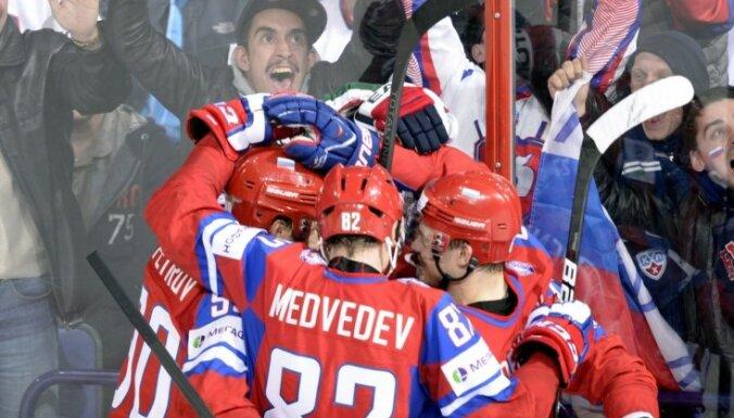 Россияне дожали в концовке сборную США