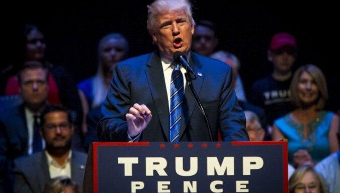 Tramps aicina balsot par viņu afroamerikāņus, kuriem neesot ko zaudēt