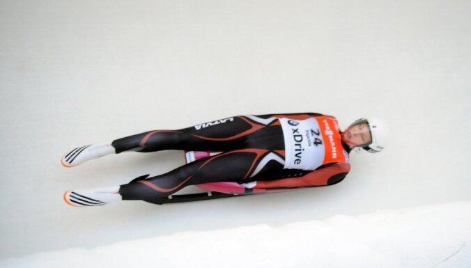 Visi Latvijas kamaniņnieki kvalificējas Pasaules kausa posmam