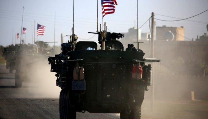 ASV vadītā koalīcija sākusi karavīru izvešanu no Sīrijas